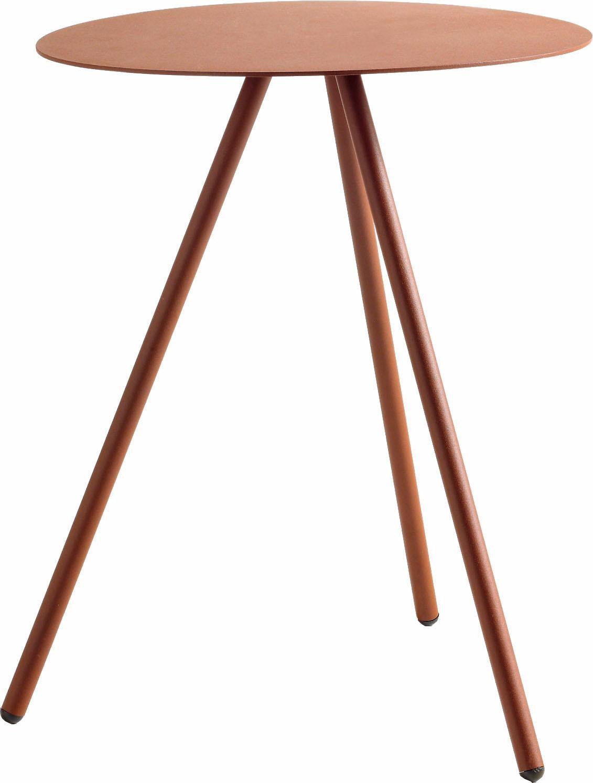 hülsta Beistelltisch MULTI - VARIS 02, aus Metall, Höhe 51 cm rot Beistelltische Tische