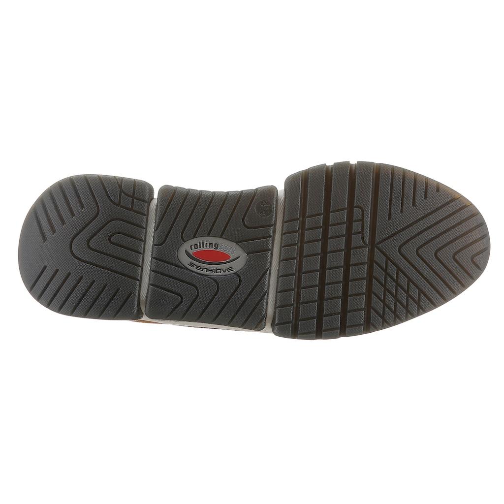 Gabor Rollingsoft Keilsneaker, mit Ziernähten