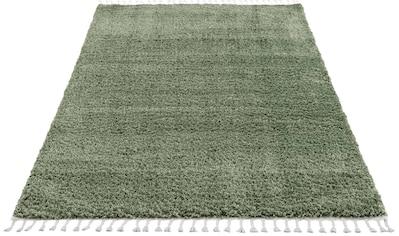 Carpet City Hochflor-Teppich »Pulpy 100«, rechteckig, 30 mm Höhe, Wohnzimmer kaufen