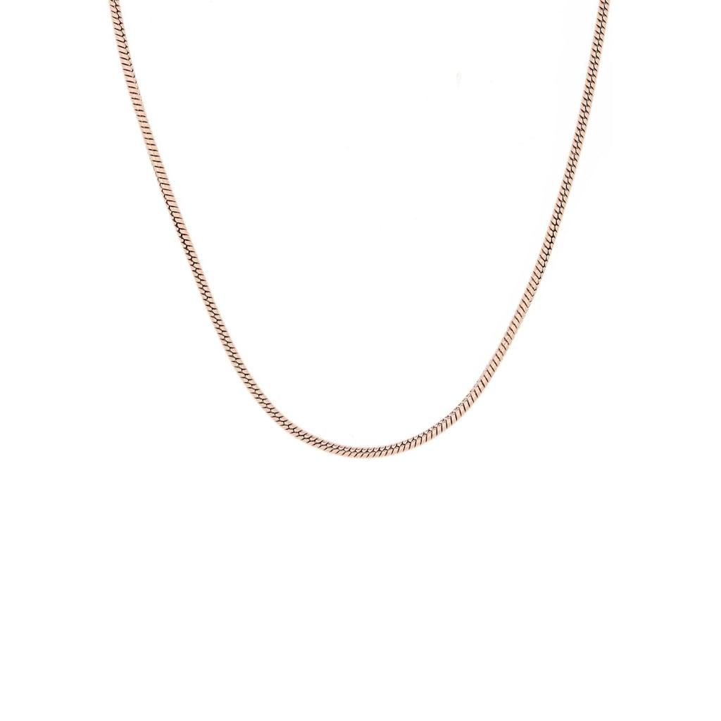 Firetti Edelstahlkette »Schlangenkettengliederung, 1,5 mm breit«, Made in Germany