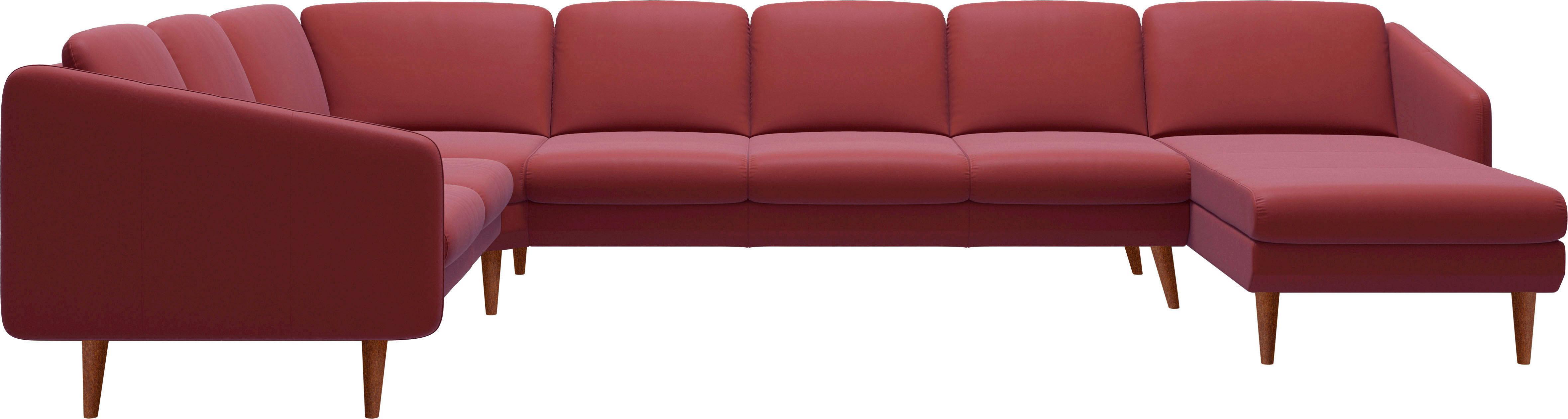 Stressless® Ecke 2-Sitzer/3-Sitzer Trio mit Longseat »Eve« mit schrägen Holzüßen in 3 Ausführungen | Wohnzimmer > Sofas & Couches > 2 & 3 Sitzer Sofas | Leder - Stoff - Polyester | STRESSLESS