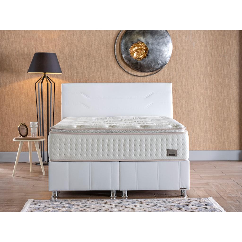 İSTİKBAL Bonnellfederkernmatratze »New IQ Comfort«, 35 cm cm hoch, 930 Federn, (1 St.), intelligent kombinierter, doppelter Federkern mit fest vernähtem Komfortschaumtopper