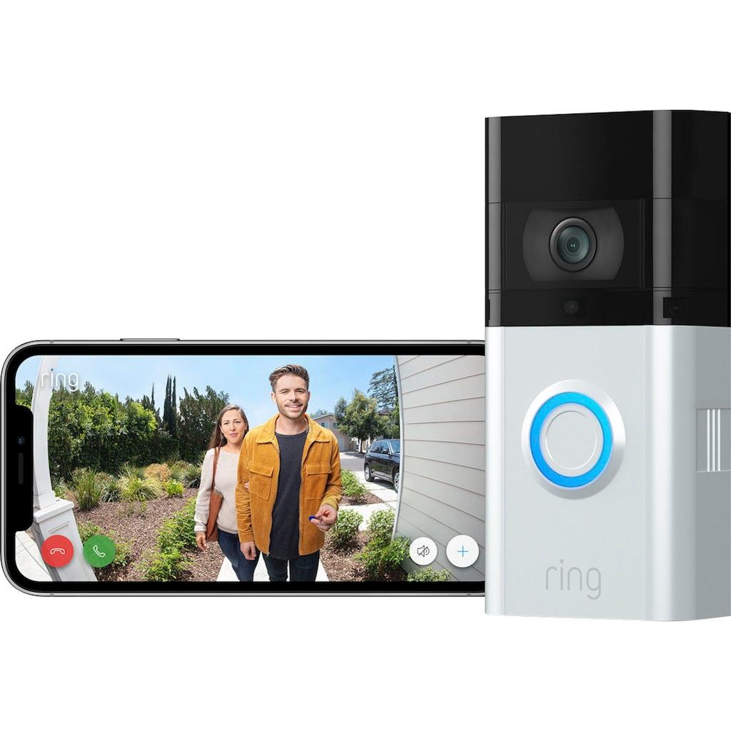 Ring Überwachungskamera »Video Doorbell 3 Plus«, Außenbereich