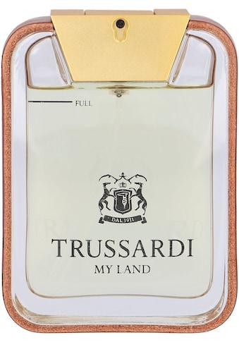 "Trussardi Eau de Toilette ""My Land"" kaufen"
