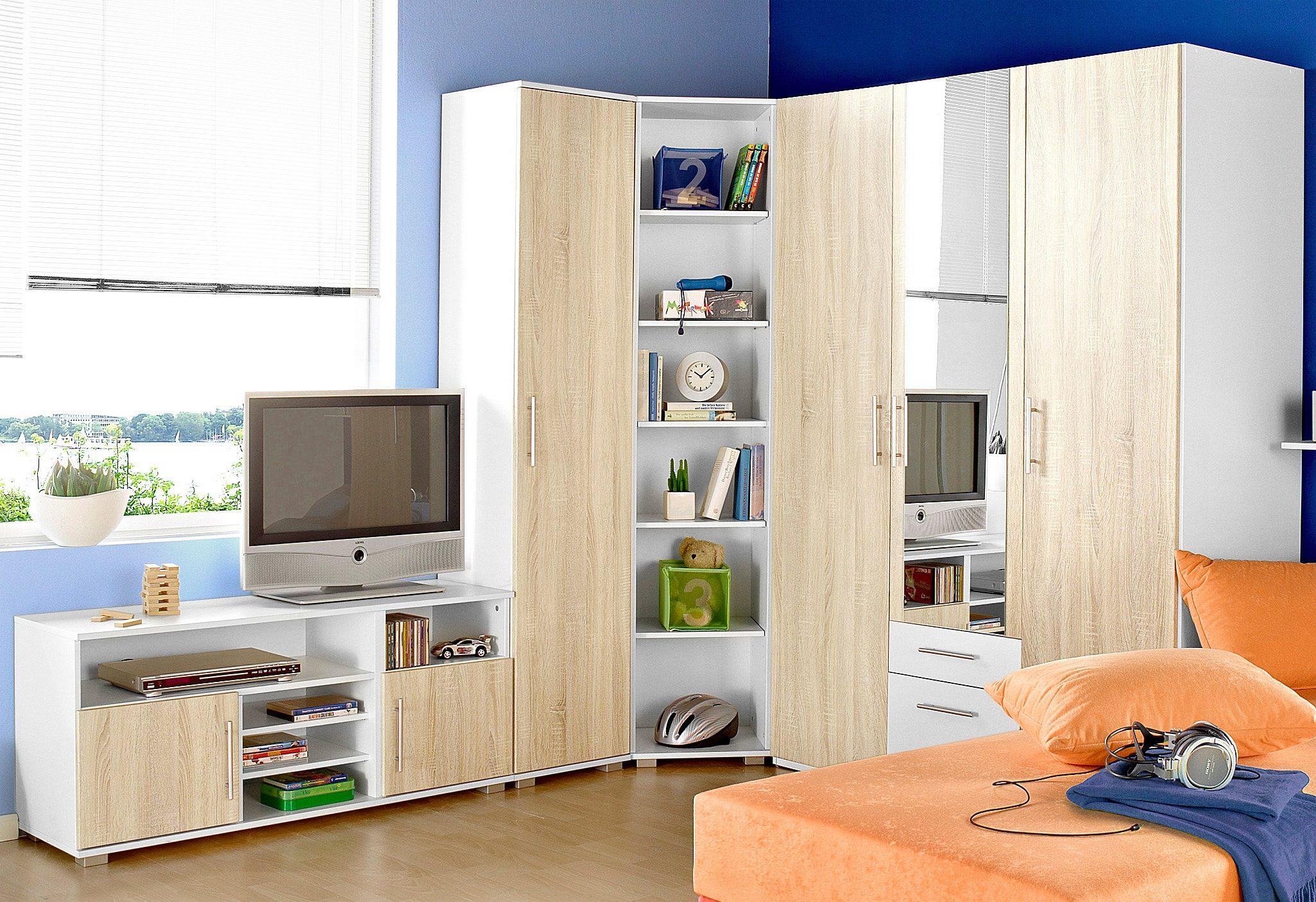 Jugendzimmer-Set, (Set, 5 St.) beige Komplett-Jugendzimmer Jugendmöbel Jugendzimmer-Set