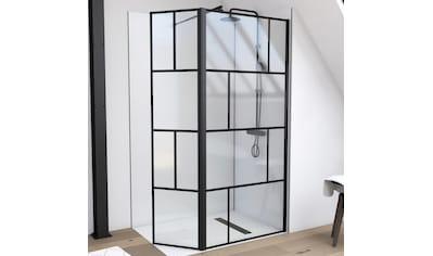 Marwell Walk-in-Dusche, inkl. Haltestange für Wandmontage kaufen