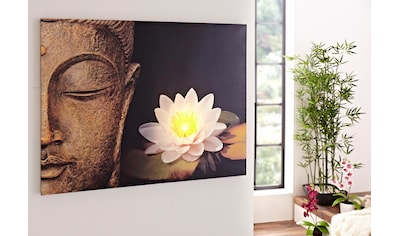 Home affaire LED - Bild »Buddha« kaufen