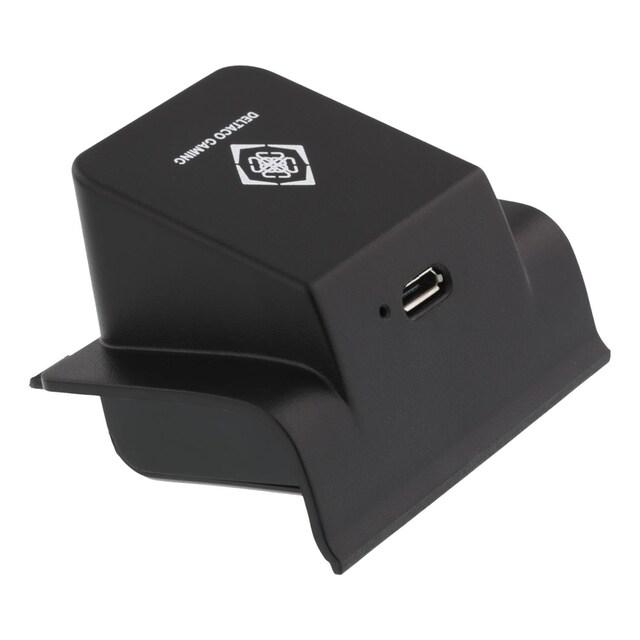 DELTACO Wireless Charging kabellos »Drahtloser Qi-Empfänger für XBOX ONE-Controller«