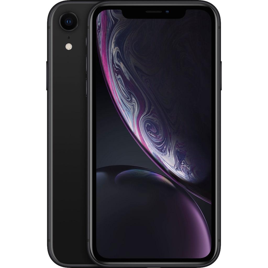 """Apple Smartphone »iPhone XR 6,1"""" 128 GB«, (15,5 cm/6,1 """", 128 GB Speicherplatz, 12 MP Kamera), ohne Strom-Adapter und Kopfhörer"""