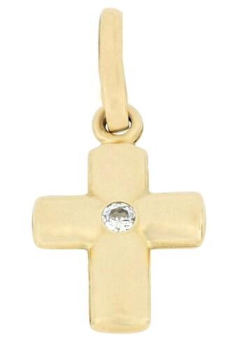 Firetti Kettenanhänger »Kreuz, glänzend« kaufen