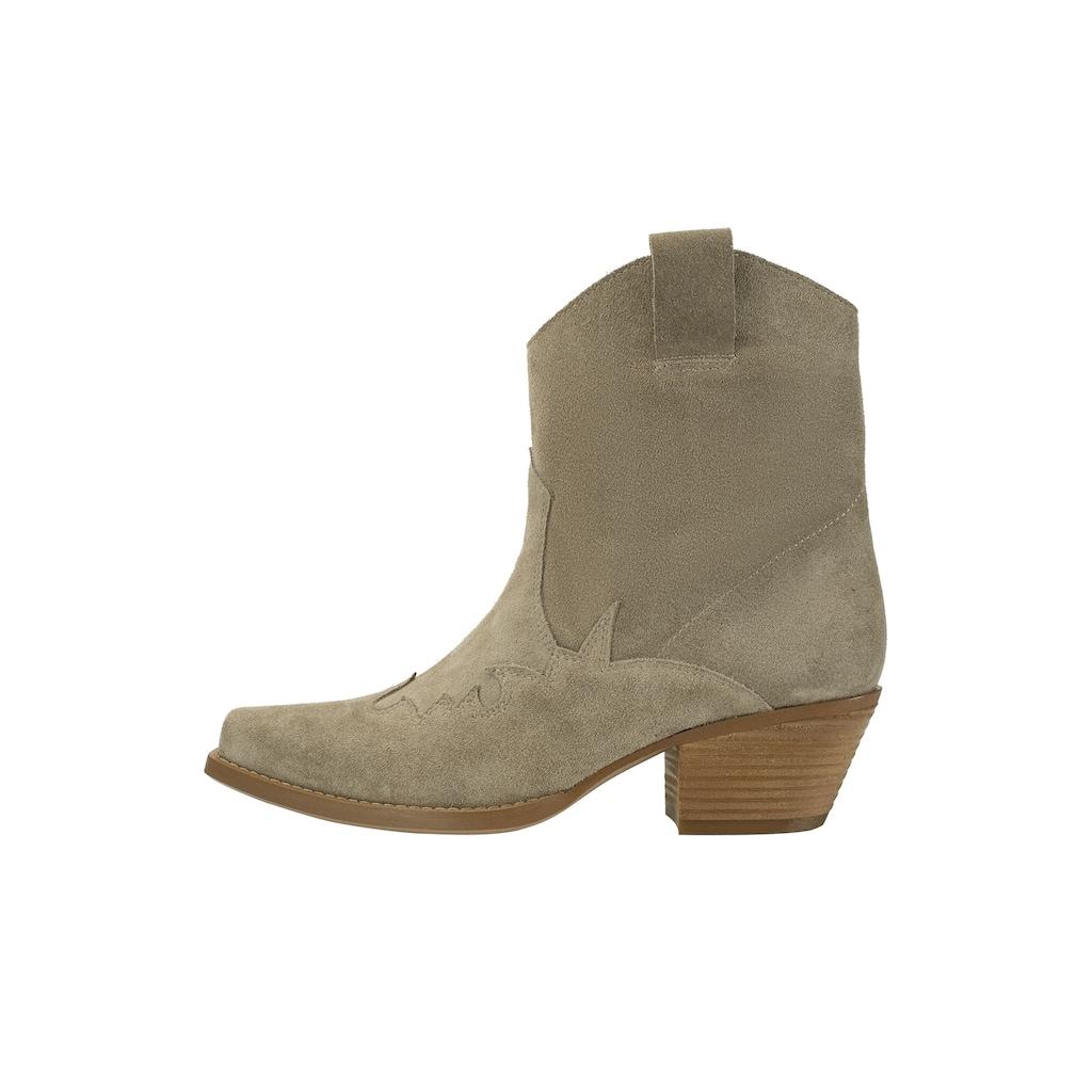 ekonika Stiefelette, im modischen Cowboy-Style