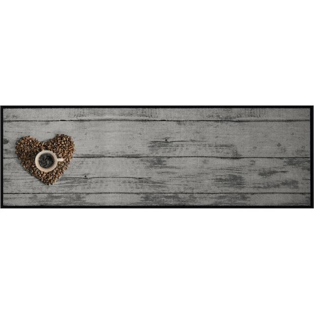 Küchenläufer, »Coffee Bean«, Zala Living, rechteckig, Höhe 5 mm, maschinell getuftet