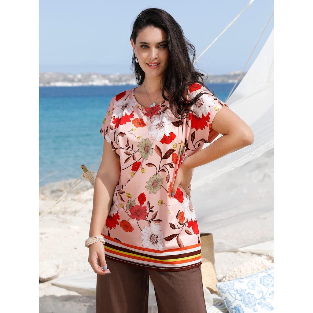 MIAMODA Print-Shirt, mit Blumendruck