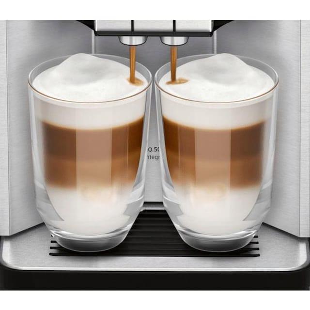 SIEMENS Kaffeevollautomat EQ.5 500 integral TQ507D03, 1,7l Tank, Scheibenmahlwerk