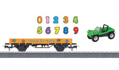 Märklin Güterwagen »Niederbordwagen, Happy Birthday - 44231« kaufen