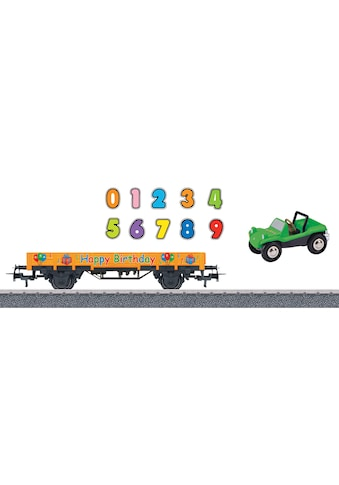 """Märklin Güterwagen """"Niederbordwagen, Happy Birthday  -  44231"""", Spur H0 kaufen"""