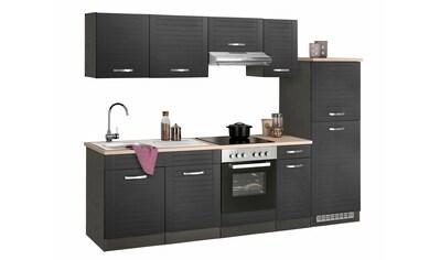 HELD MÖBEL Küchenzeile »Falun«, ohne E-Geräte, Breite 270 cm kaufen