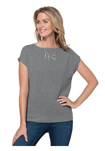 Ambria Shirt mit Ripp - Struktur allover kaufen