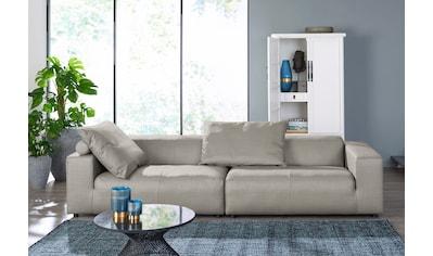 hülsta sofa 3-Sitzer »hs. 432«, wahlweise in Stoff oder Leder, mit niedrigem Rücken kaufen