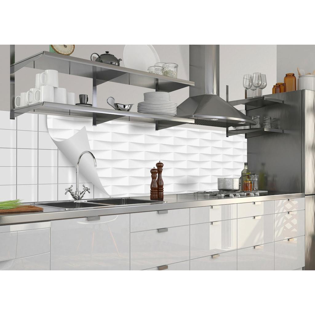 MySpotti Küchenrückwand »fixy Ashton«, selbstklebende und flexible Küchenrückwand-Folie