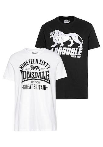 Lonsdale T - Shirt »BYLCHAN« (Packung, 2er - Pack) kaufen