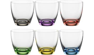 BOHEMIA SELECTION Glas »VIVA COLORI«, (Set, 6 tlg.), 6-teilig kaufen