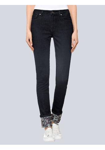 Alba Moda Jeans mit Aufschlag am Saum kaufen
