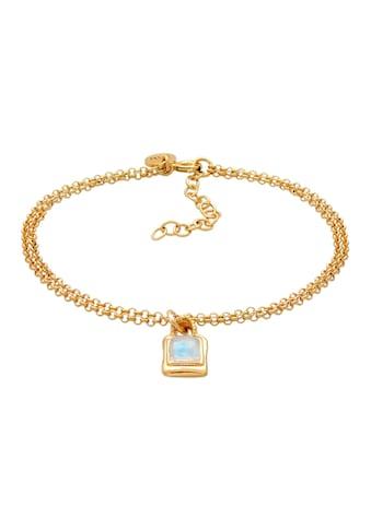 Elli Armband »Mondstein Edelstein Vintage Layer Look 925 Silber« kaufen
