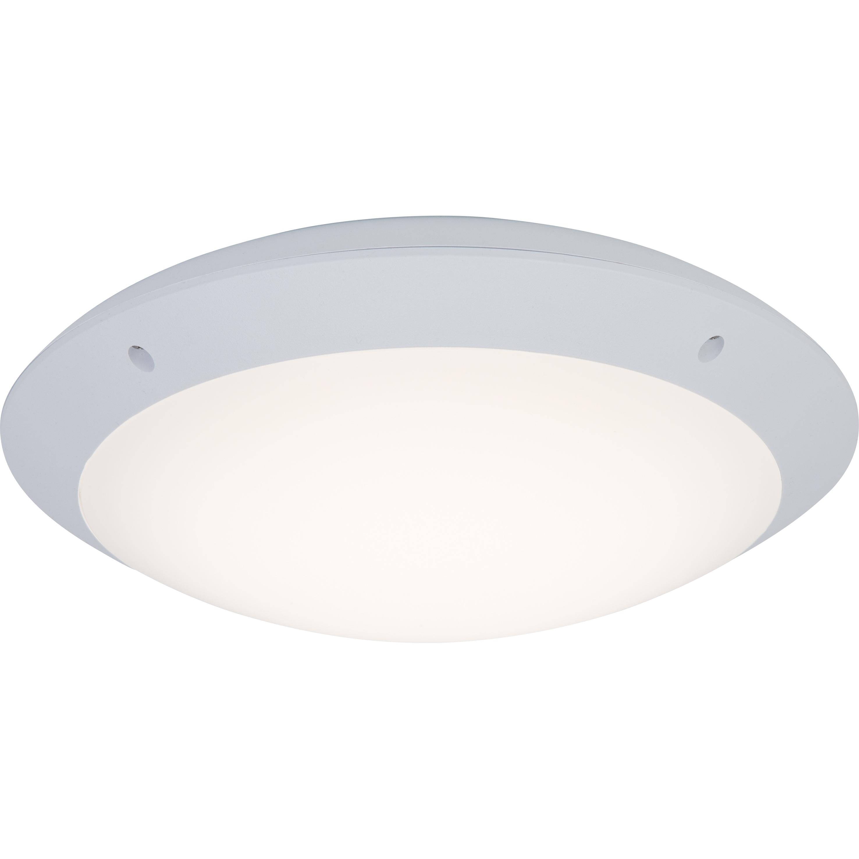 Brilliant Leuchten Medway LED Außenwand- und Deckenleuchte 31cm weiß