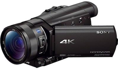 Sony Camcorder »FDR-AX100«, 4K Ultra HD, NFC-WLAN (Wi-Fi), 12x opt. Zoom, Golf Shot,... kaufen