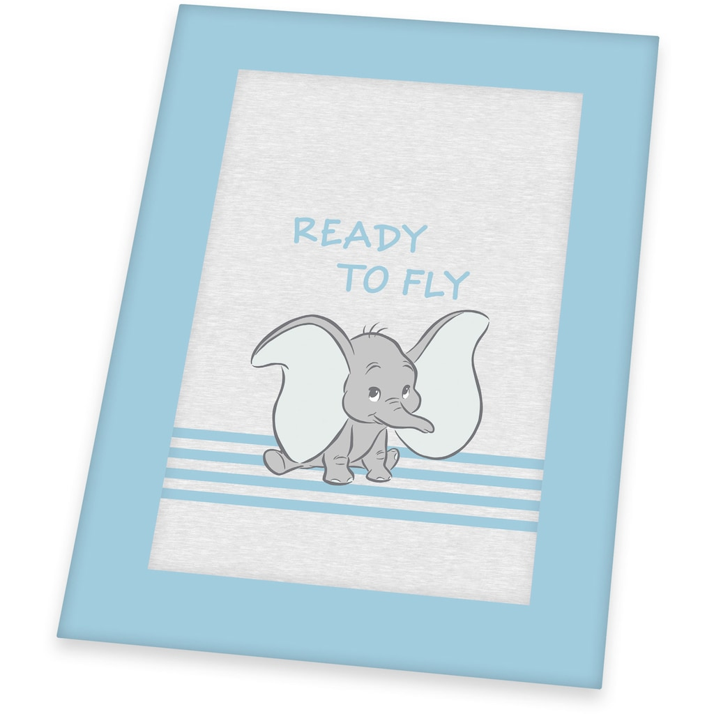 Herding Krabbeldecke »Disney`s Dumbo, hellblau/grau«