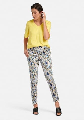 Emilia Lay Stoffhose »Hose«, mit Allover-Muster kaufen
