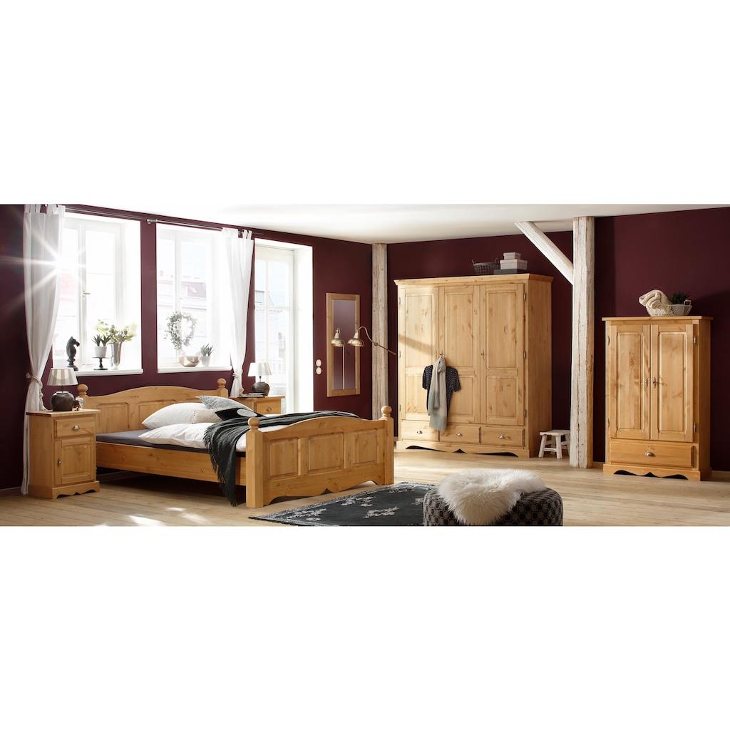 Home affaire Bett »Teo«, in drei verschiedenen, Breiten und zwei unterschiedlichen Farben