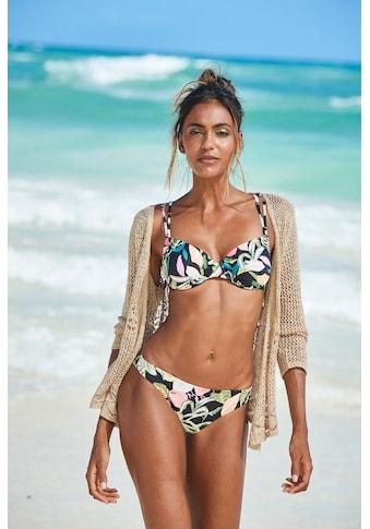 s.Oliver Beachwear Bikini-Hose »Herbst«, mit floralem Design kaufen