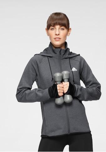 adidas Performance Kapuzensweatjacke »DESIGNED TO MOVE FULL-ZIP HOODIE« kaufen