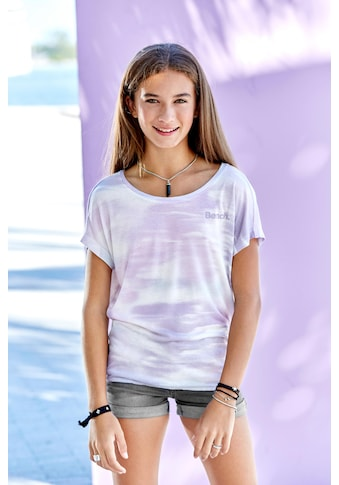 Bench. T-Shirt, mit überschnittener Schulter kaufen