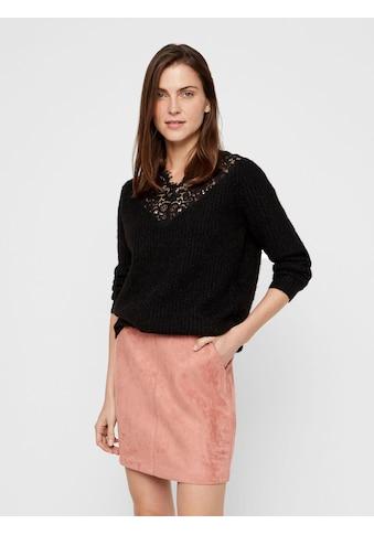 Vero Moda V - Ausschnitt - Pullover »MERLA« kaufen