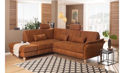 Home affaire Ecksofa »Palazzo«, incl. Sitztiefenverstellung, wahlweise mit... kaufen