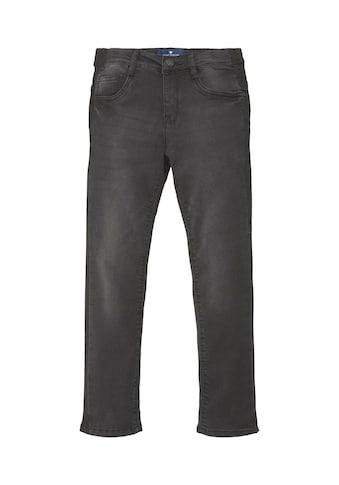 TOM TAILOR Straight-Jeans »Tim Slim Jeans mit Tape-Detail« kaufen