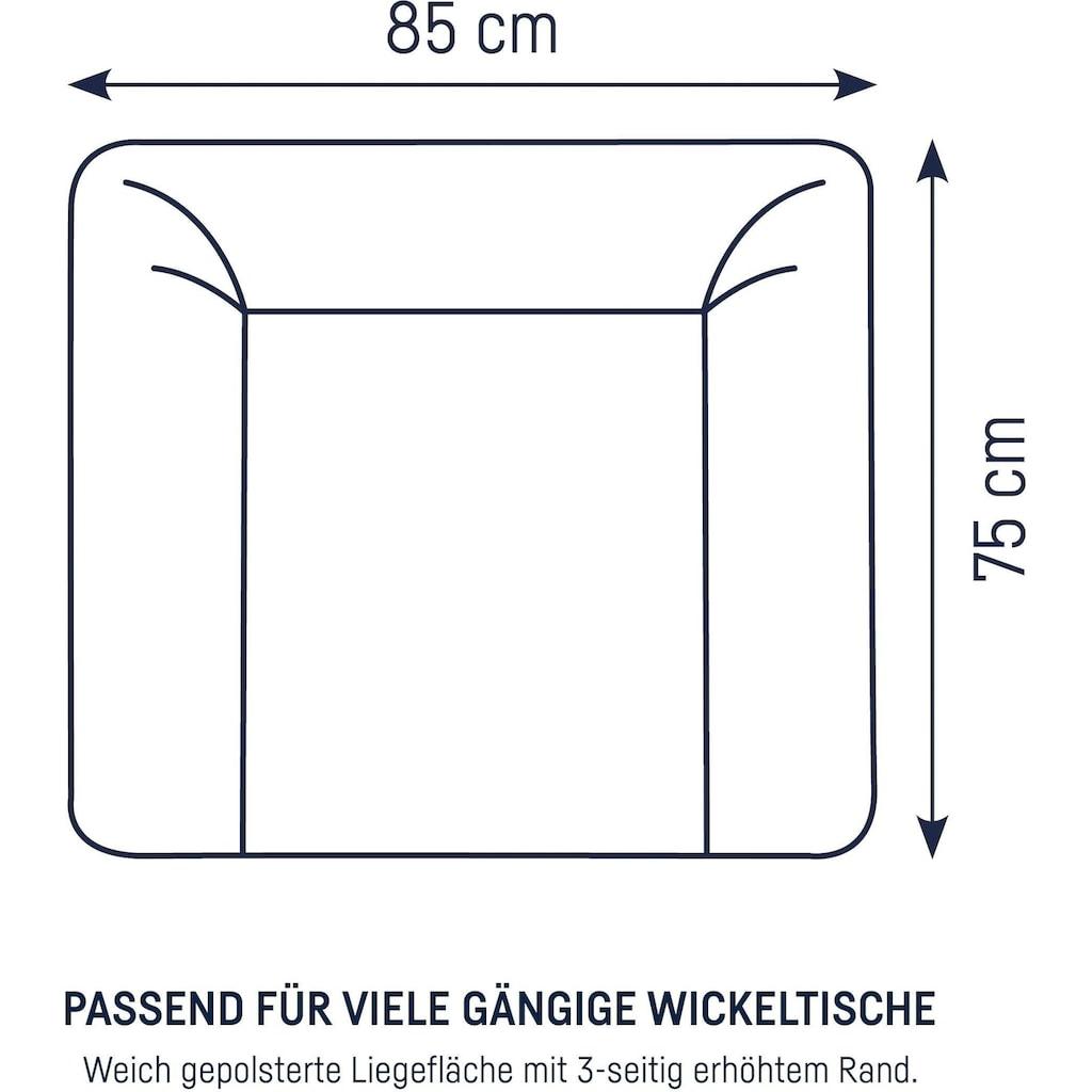 Julius Zöllner Wickelauflage »Softy - Star mint«, (1 tlg.), Made in Germany