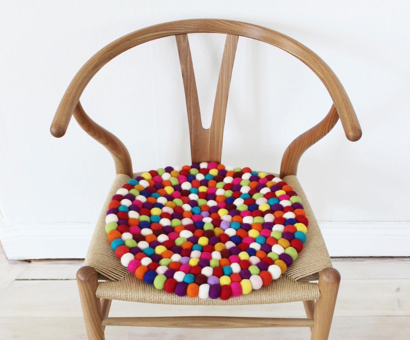 Sitzkissen Mixed Color Wooldot