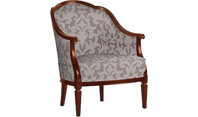 SELVA Sessel »Villa Borghese«, Modell 1374, nussbaumfarbig antik kaufen