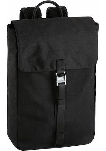 Cargo Laptoprucksack »Cargo 101, schwarz, mit Verschlussklappe« kaufen