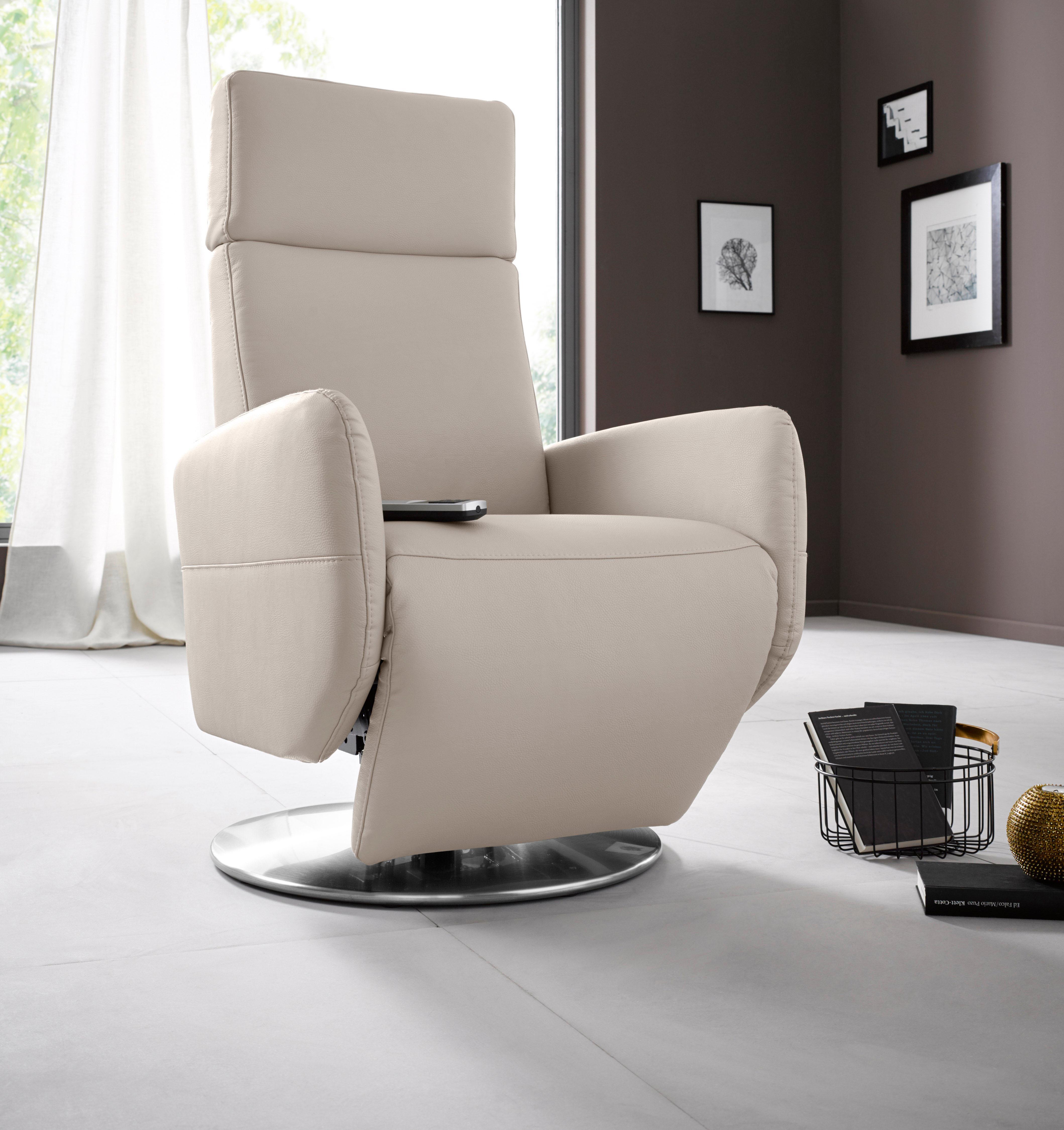 Places of Style Relaxsessel Kobra in Größe L wahlweise mit Motor und Aufstehhilfe