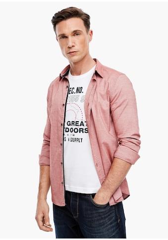 s.Oliver Langarmhemd kaufen
