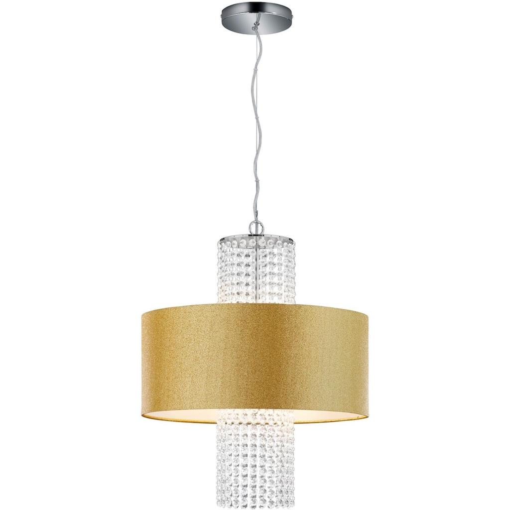 TRIO Leuchten Pendelleuchte »King«, E14, Hängeleuchte, Hängelampe, Leuchtmittel tauschbar