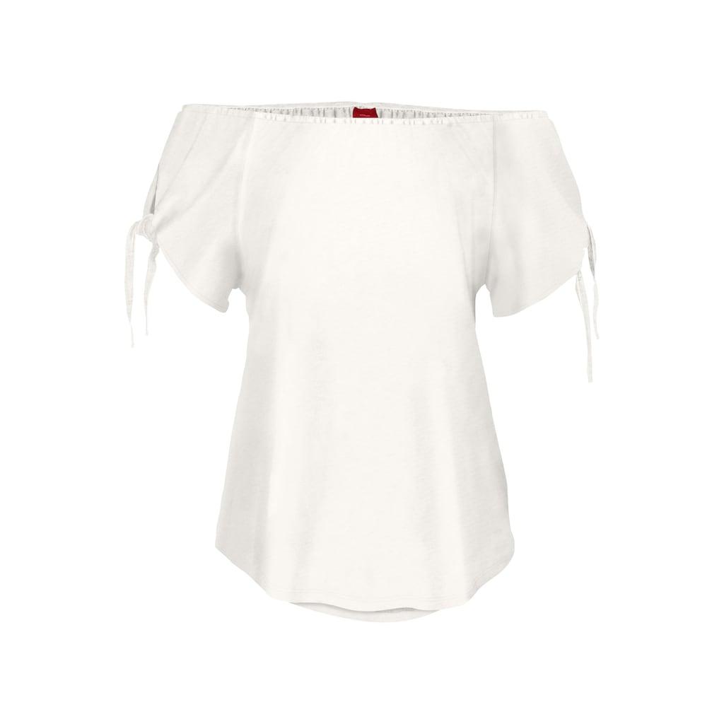 s.Oliver Strandshirt, mit Schlitzen an den Ärmeln