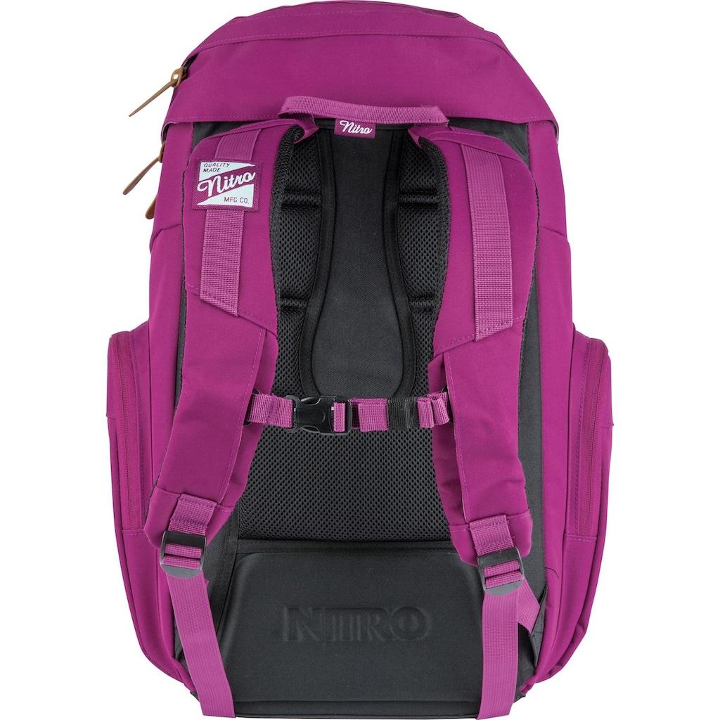 NITRO Laptoprucksack »Weekender, Grateful Pink«