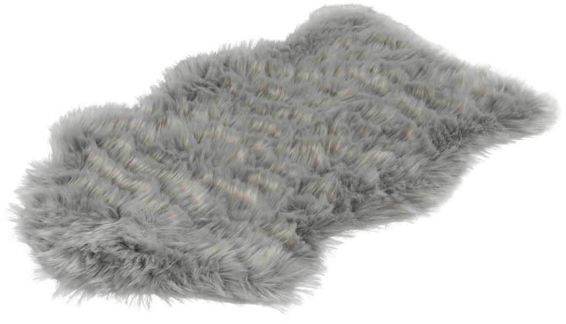 Hochflor-Teppich Softa 800 LALEE fellförmig Höhe 52 mm handgetuftet