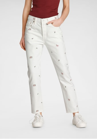 Levi's® Straight-Jeans »501 Crop«, High Waist im Cropped Style kaufen